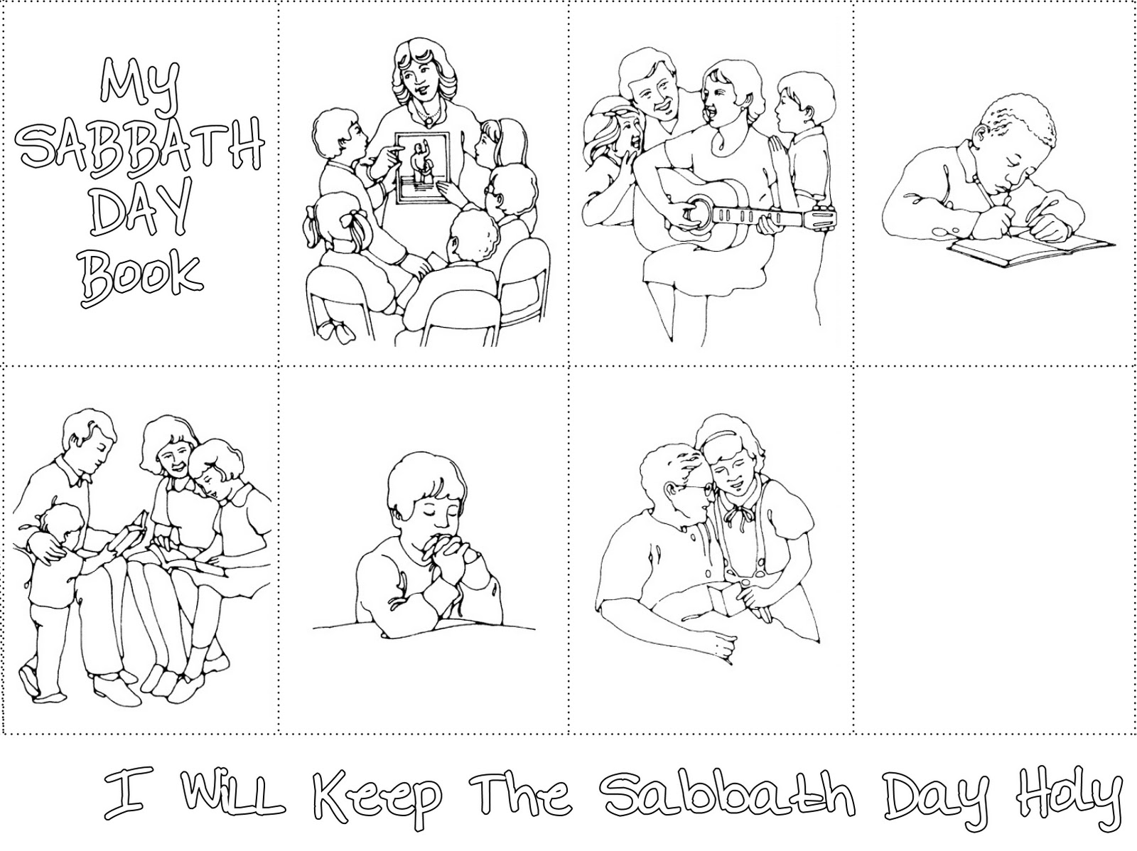 7 Images of LDS Primary Printables