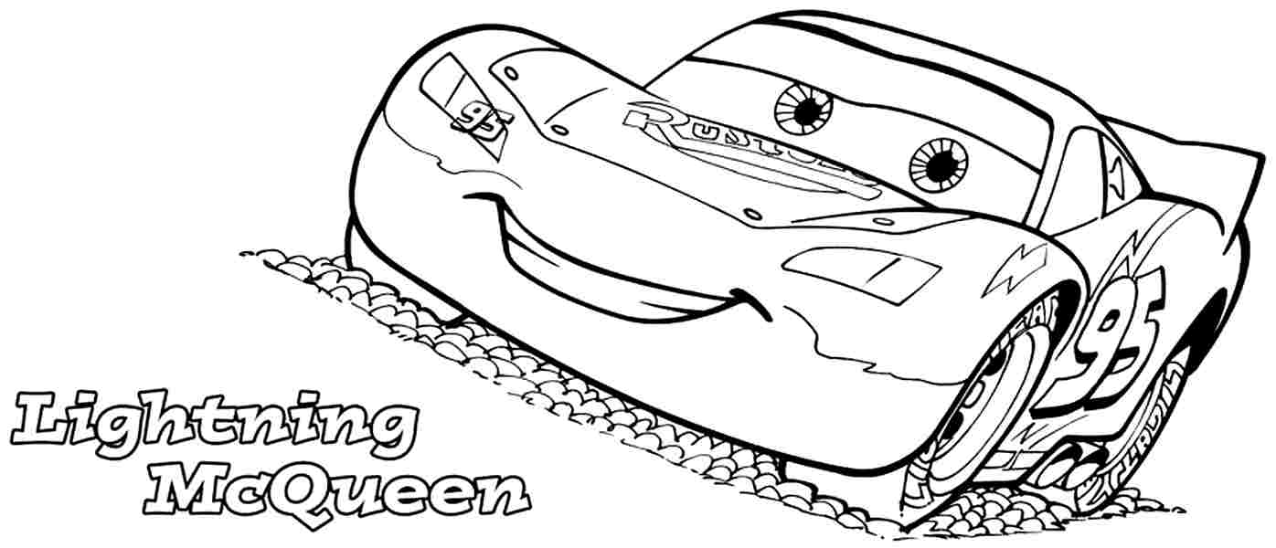 7 Best Images Of Cars Movie Coloring Pages Printable