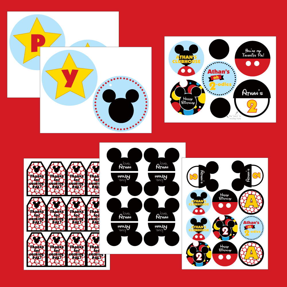 5 Images of Mickey Mouse Clubhouse Printables