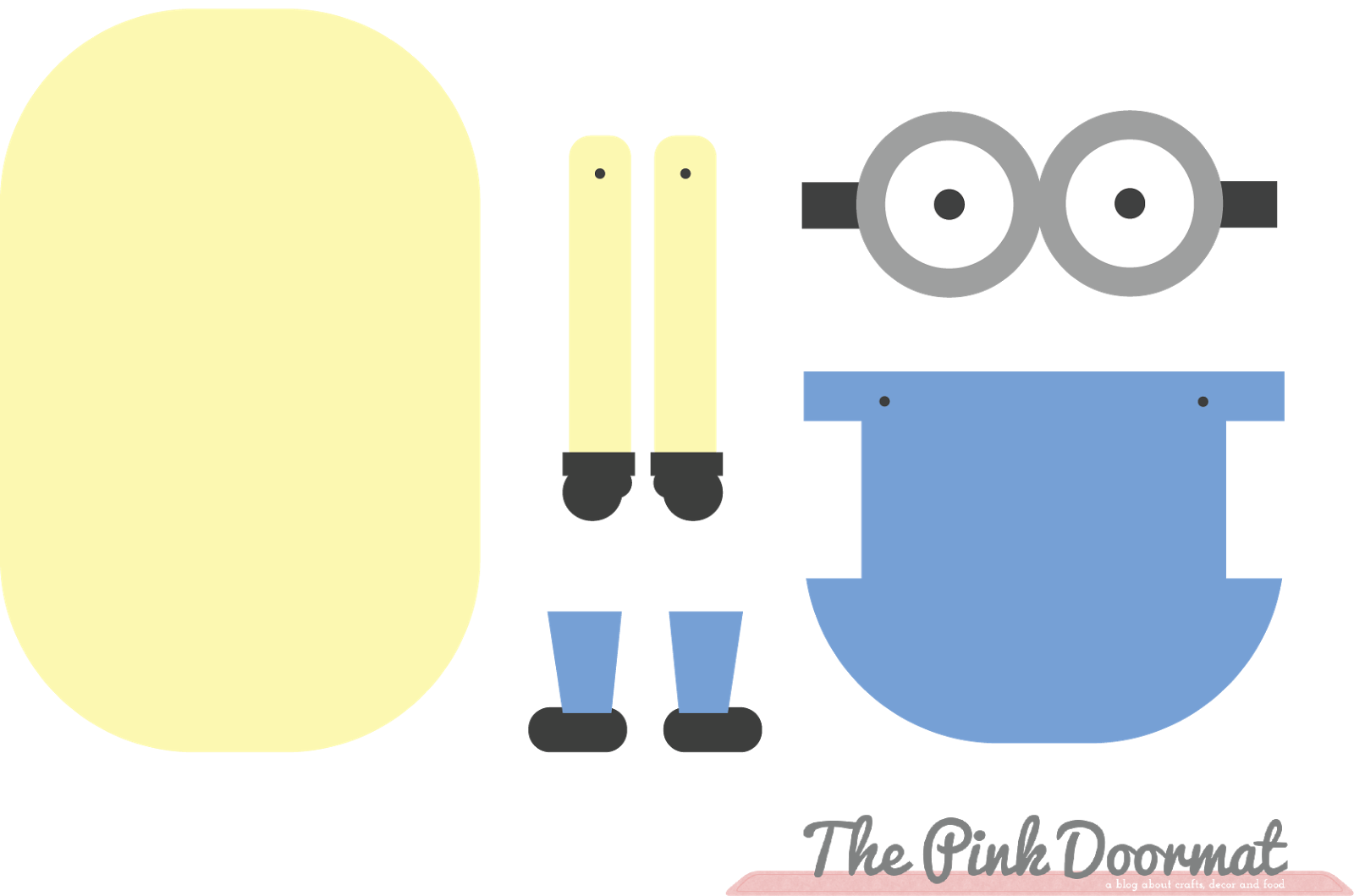 5 Images of Printable Minion Template