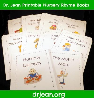 6 Images of Printable Nursery Rhyme Books