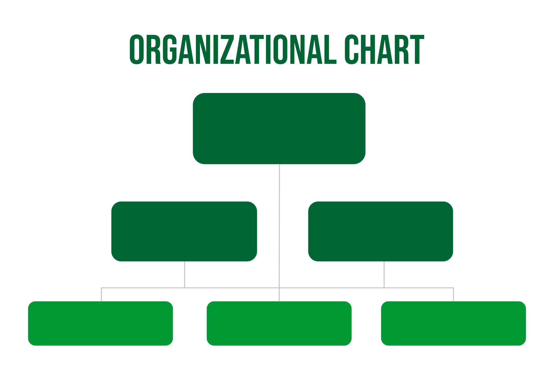 Organizational Chart Template Printable
