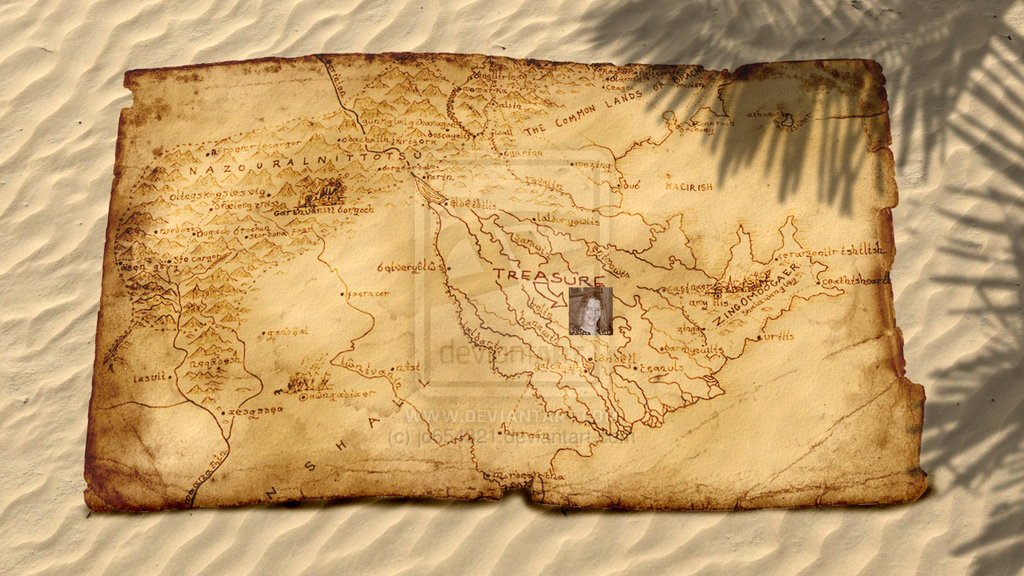 4 Images of Printable Pirate Treasure Map Template