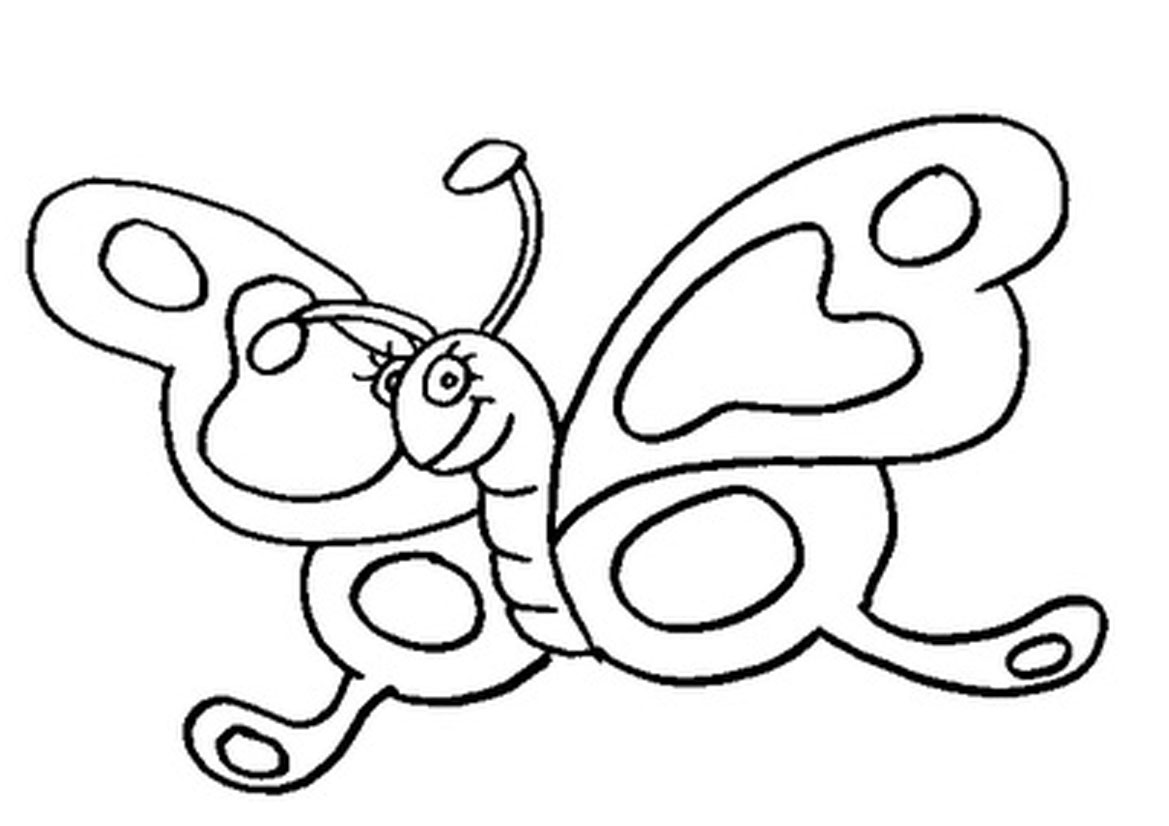 4 Images of Butterfly Coloring Sheets Printables