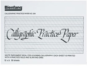 5 Images of Printable Calligraphy Practice Pads