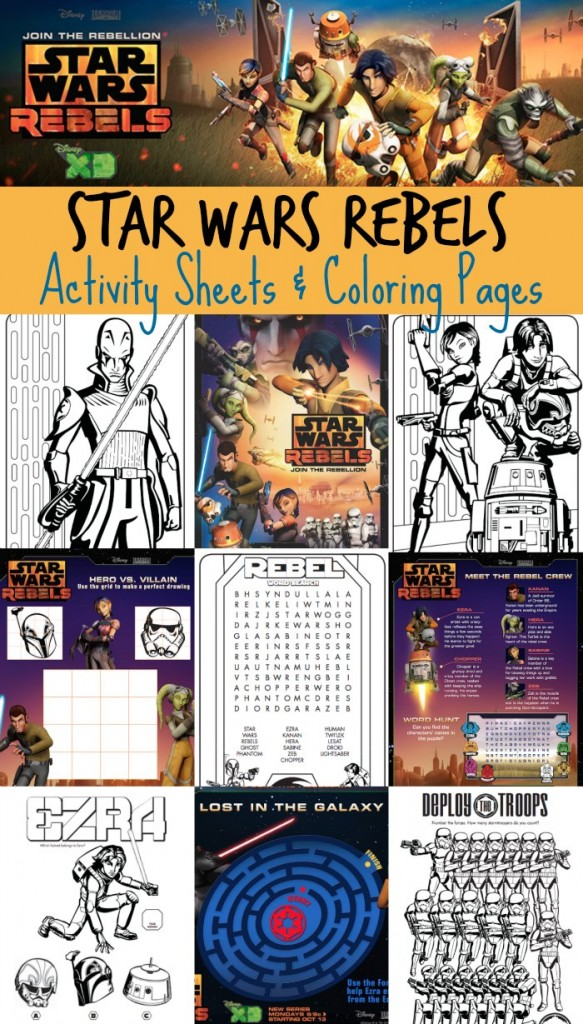 8 Images of Star Wars Printable Activities