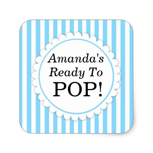 She's Ready to Pop Printables