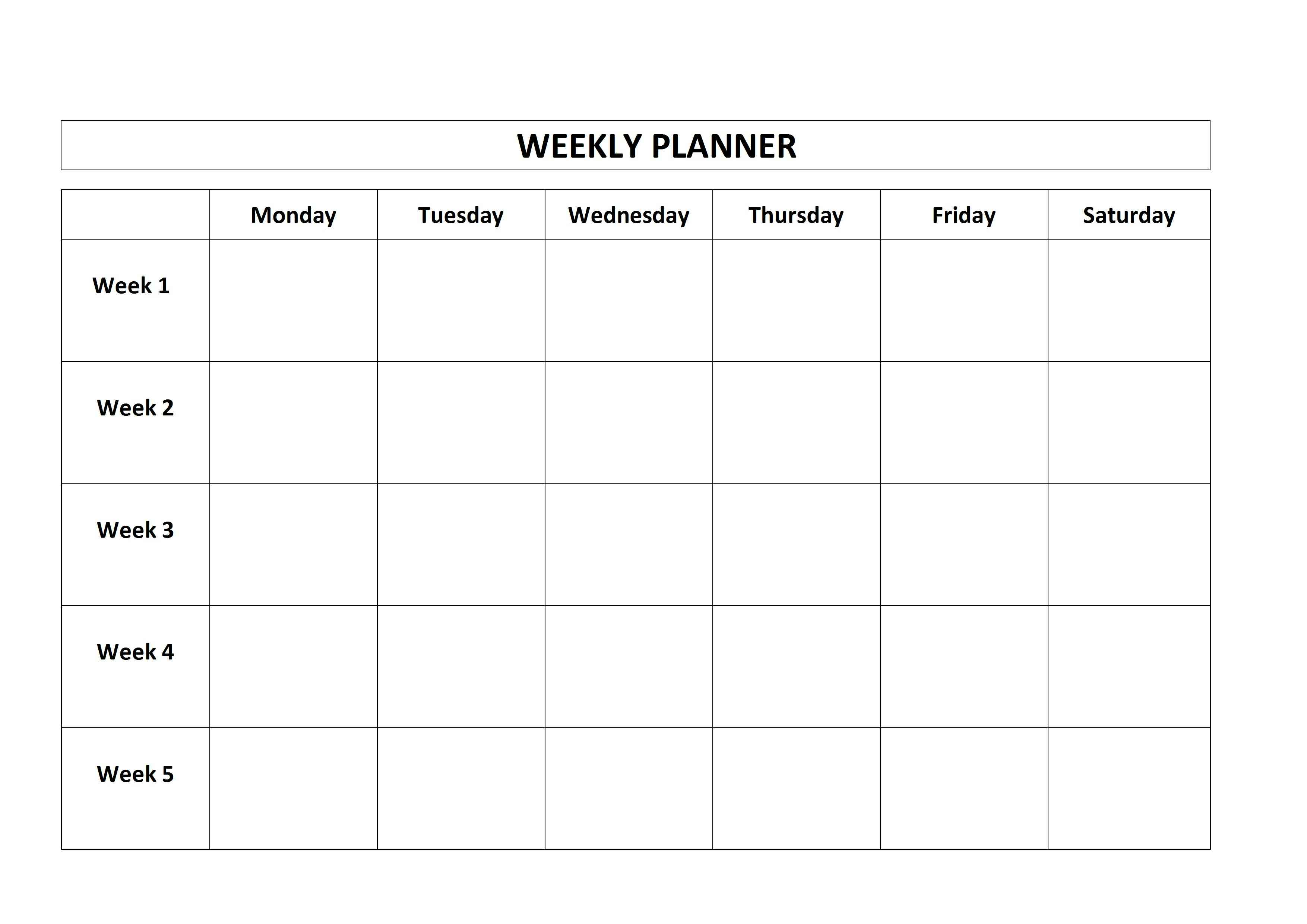 The Storage Studio Menu Planning f u0026ampn menu calendar – Free Weekly Menu Templates