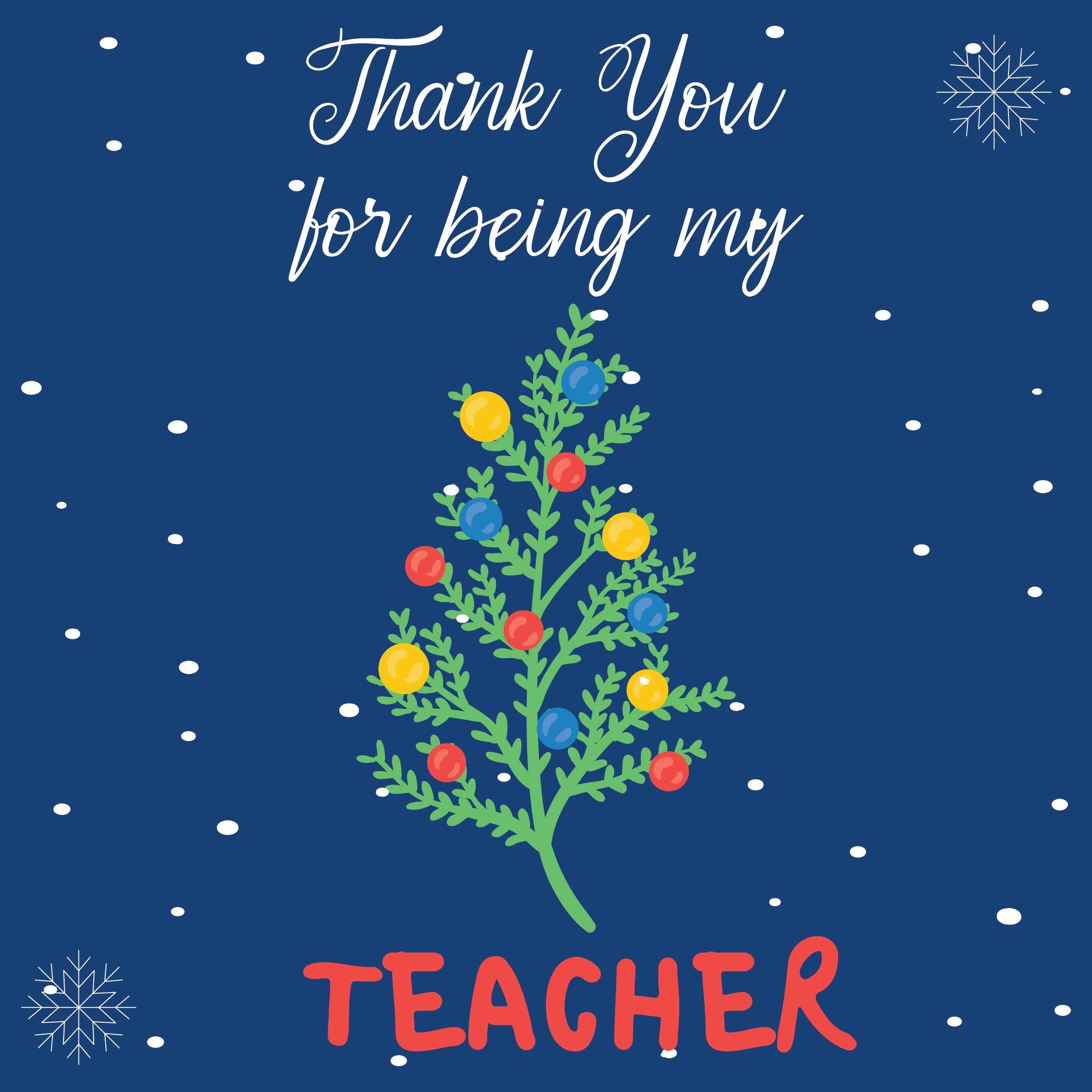 Teacher Appreciation Cards Free