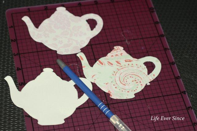 8 Images of Scrapbook Paper Tea Pot Printables