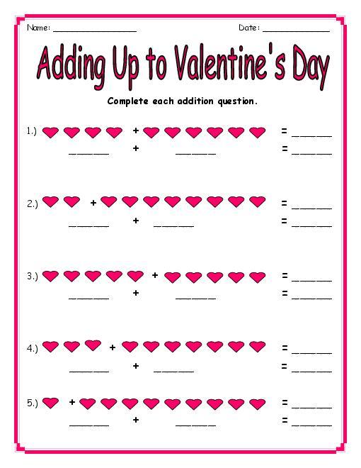 Valentine S Day Math Word Problems 4th Grade Valentines Day 2017 – Valentines Math Worksheet