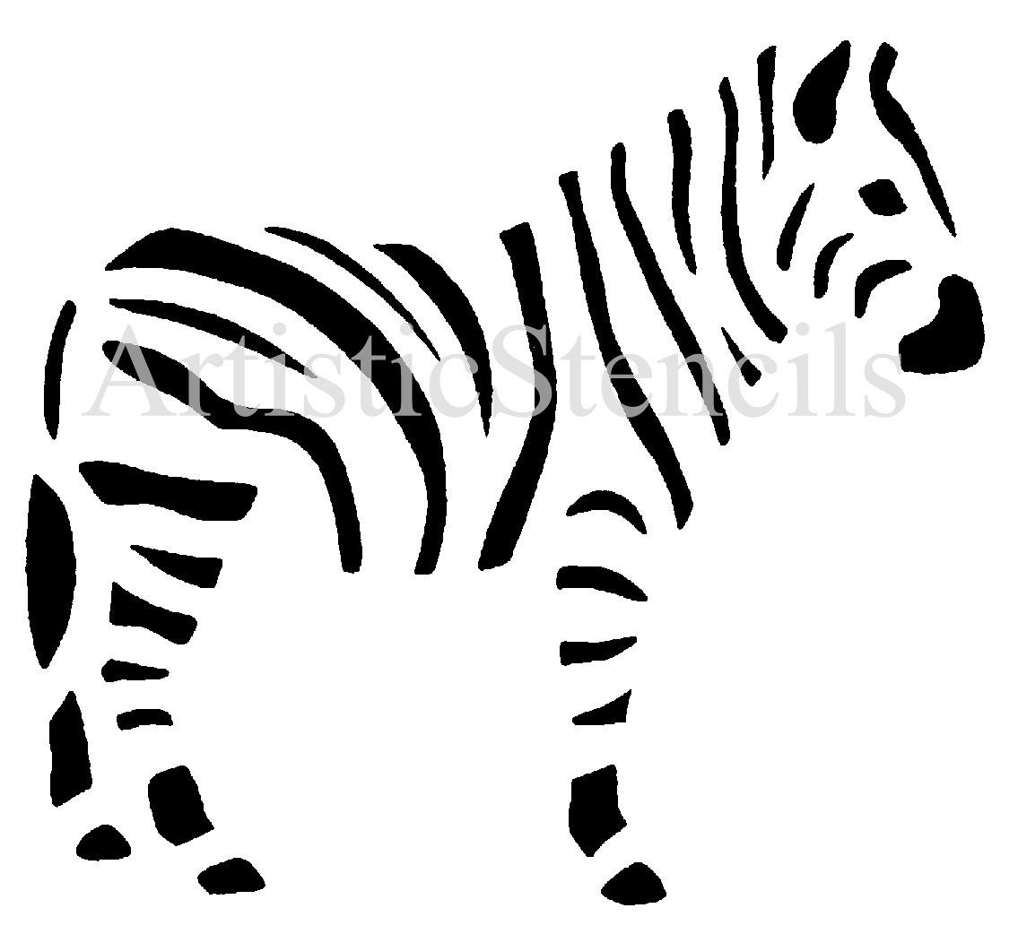 7 Images of Free Printable Pumpkin Stencils Zebra