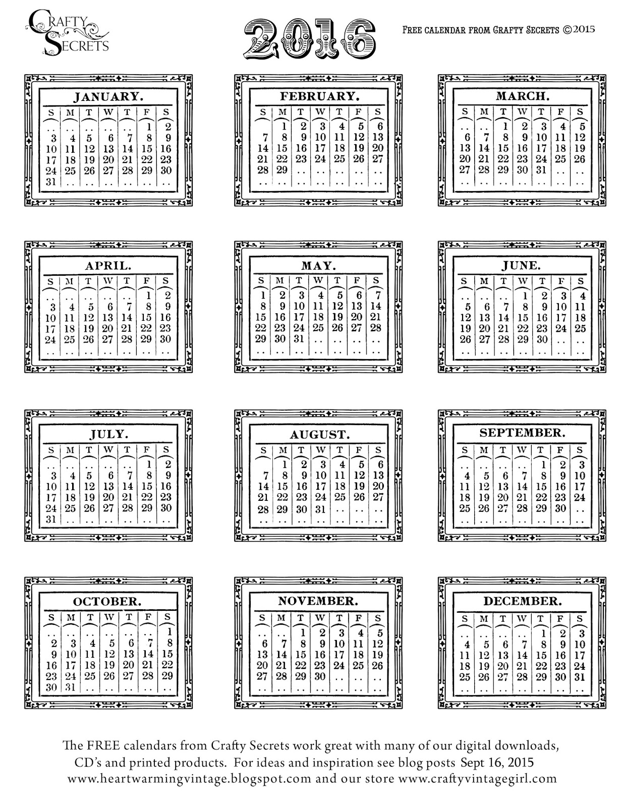 5 Images of 2016 12 Month Calendar Month At A Glance Calendar 2015 Printable