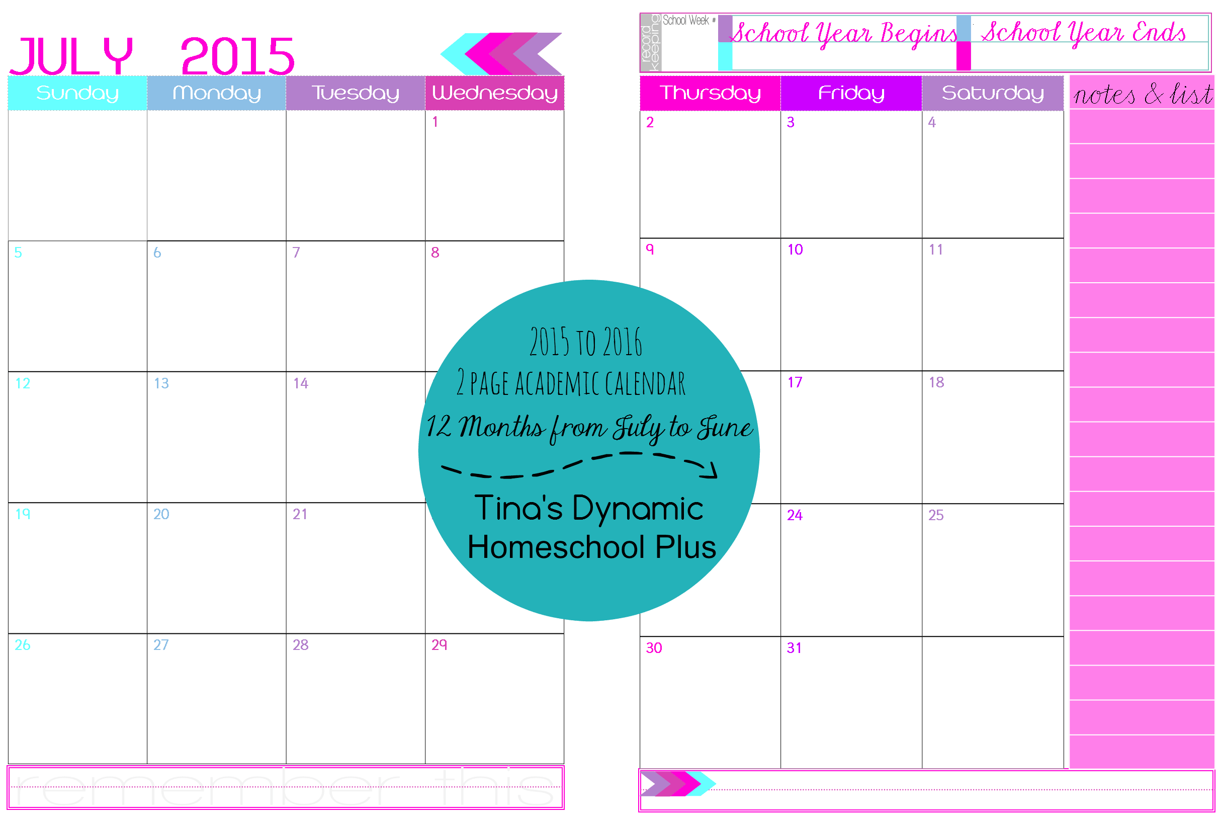 Printable Two Month Calendar Calender Download Hd Pictures to pin on ...