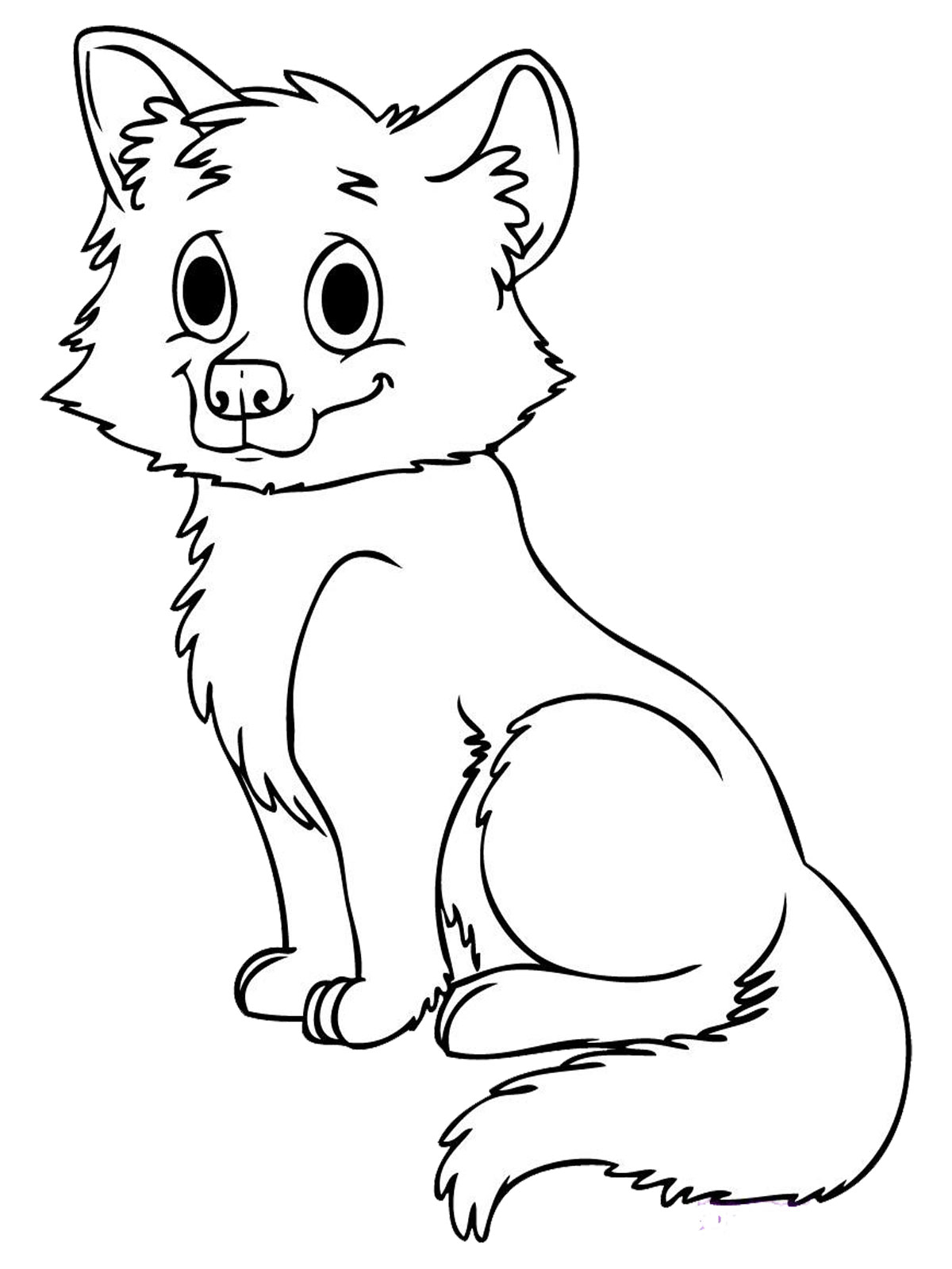 8 Images of Baby Animals Coloring Pages Printable