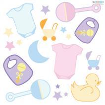 Baby Free Printable Scrapbook Cutouts