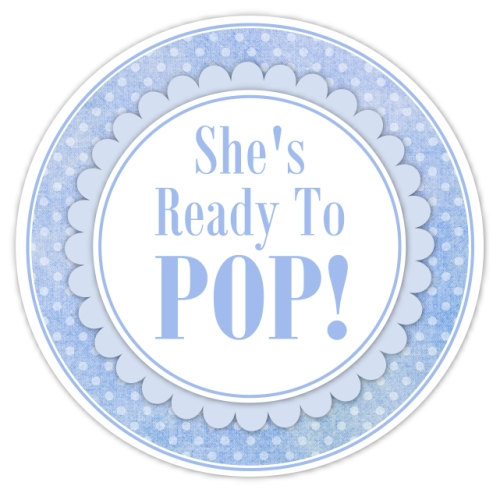 7 best images of blue ready to pop printable labels free for Ready to pop stickers template