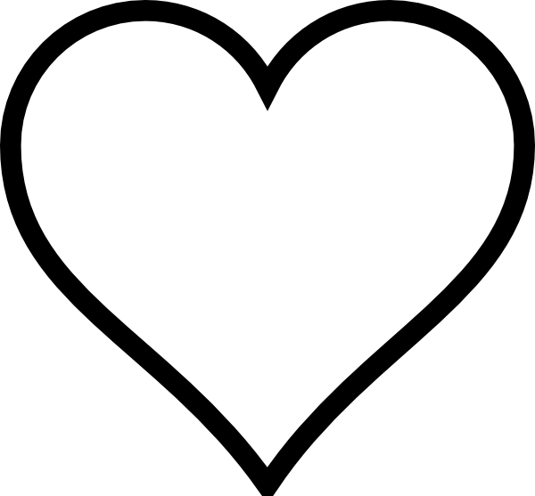 9 Images of Large Printable Heart Template