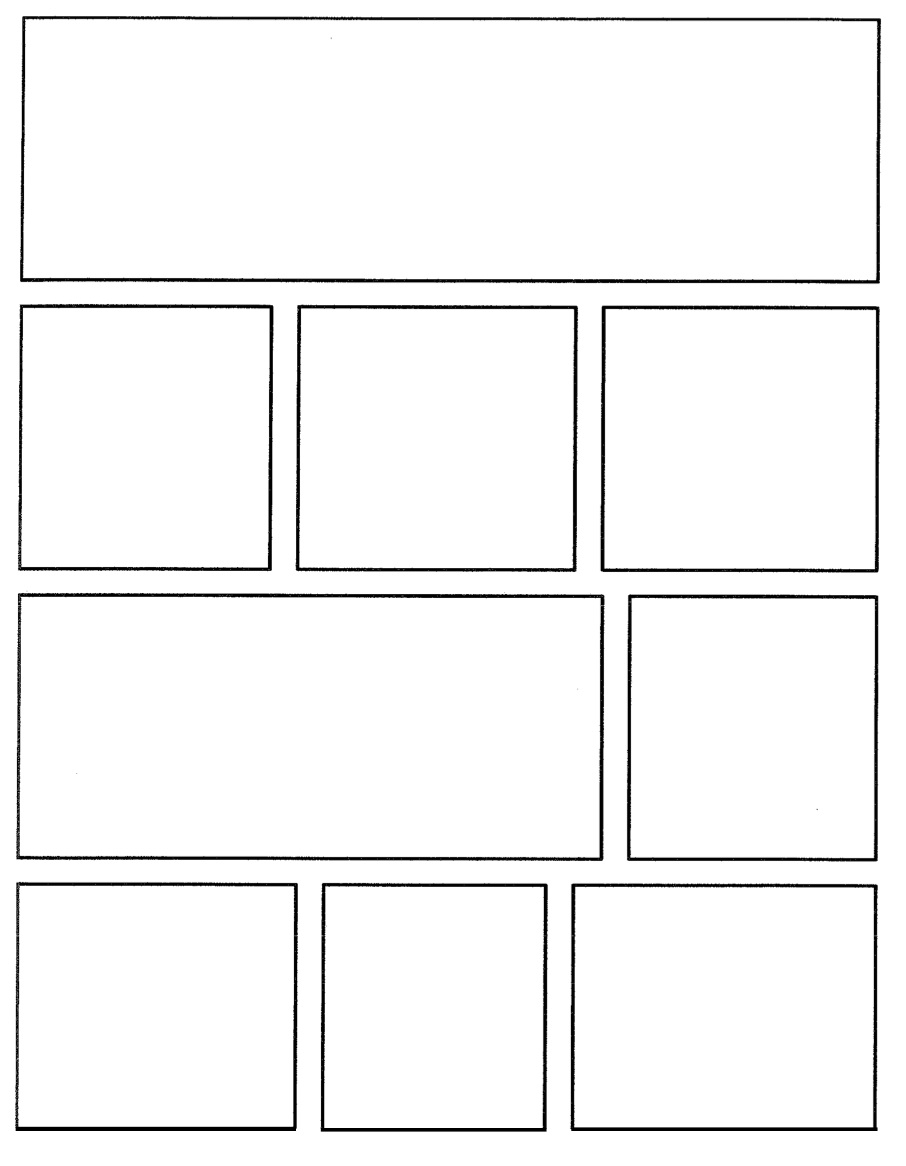 see blank comic book strip template comic book strip template blank