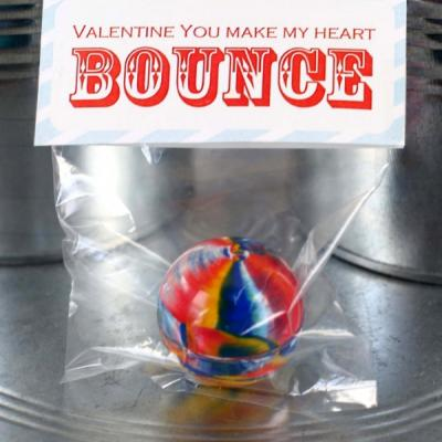 7 Images of Valentine Printable Bouncy Ball