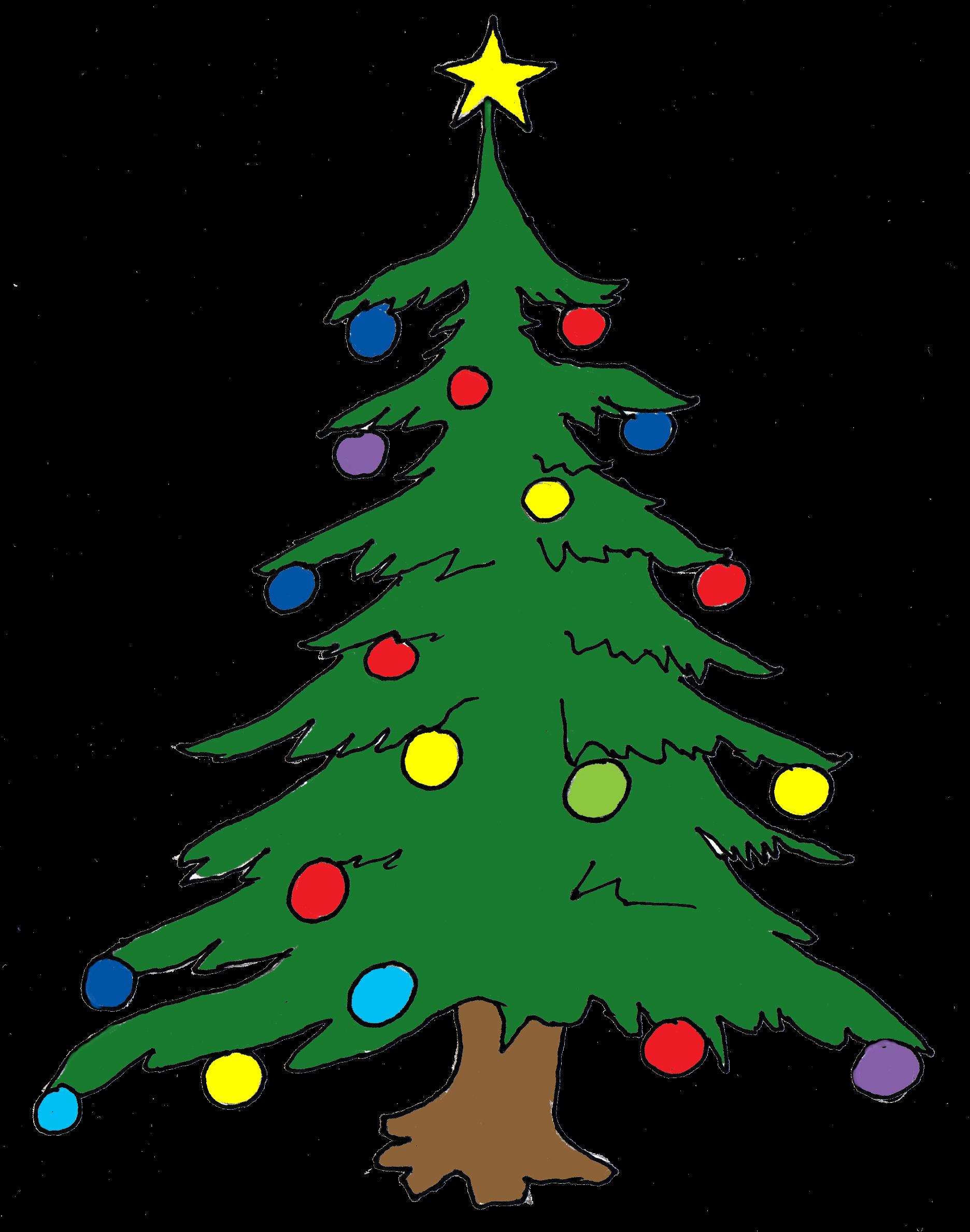 Christmas Tree Clip Art Free