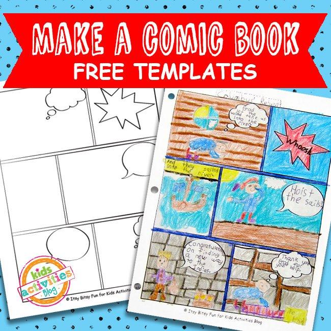 Comic template free