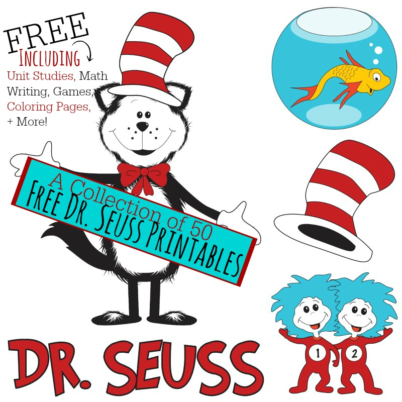 4 Images of Dr. Seuss Printables