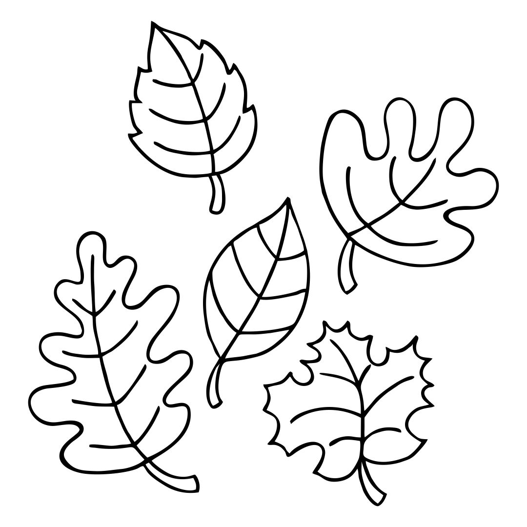 7 Best Fall Leaves Printable Templates - printablee.com