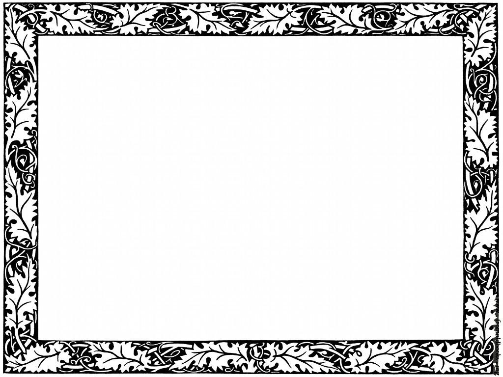 Fancy Page Border Clip Art