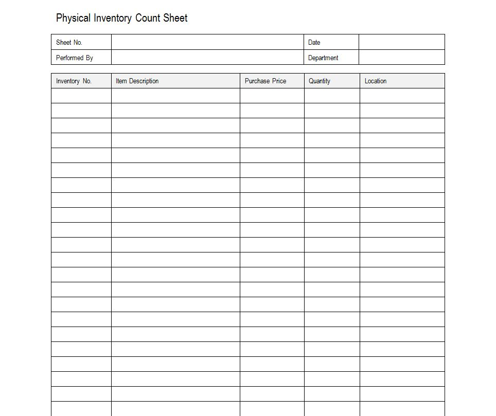 Worksheets Inventory Worksheets 6 best images of printable blank inventory worksheets free sheets