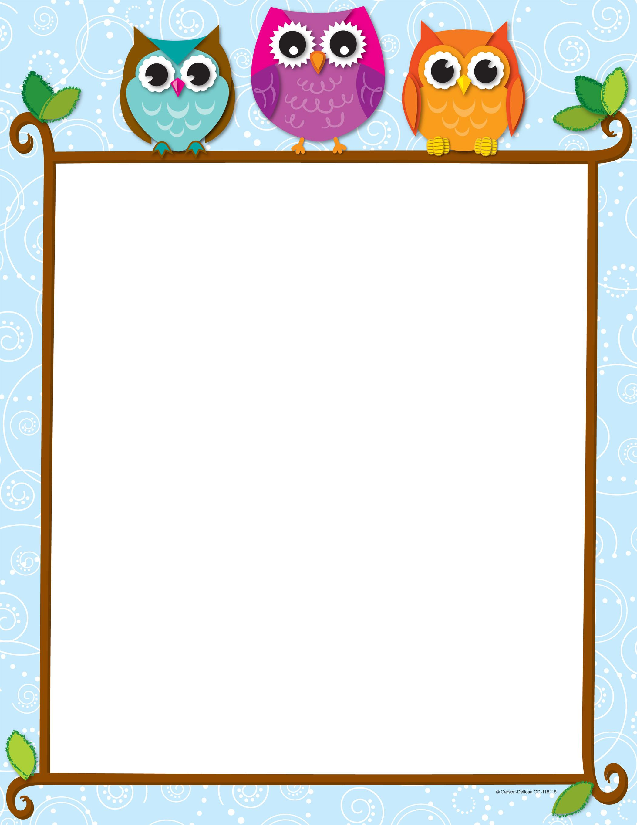 paper borders template for - photo #44