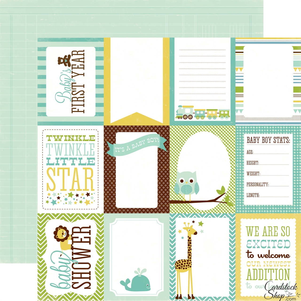 9 best images of baby scrapbook printables free baby for Free printable baby book templates