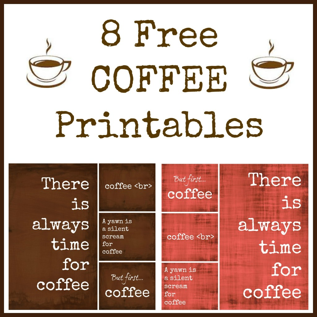 5 Images of Printable Free But First Coffee