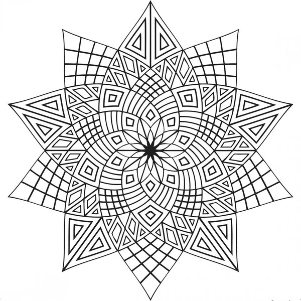 8 best images of printable adult coloring pages for Free mindfulness coloring pages