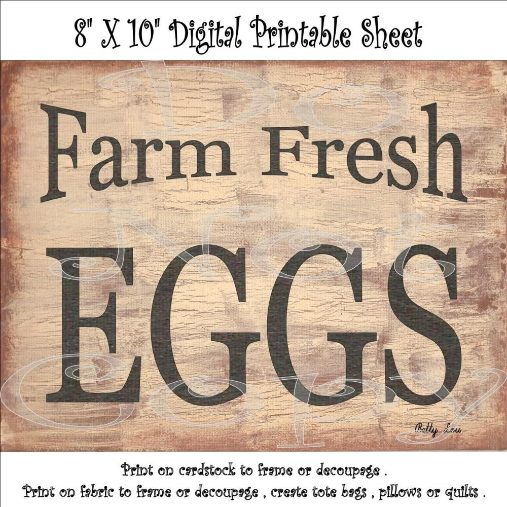 6 Images of Free Printable Farm Art