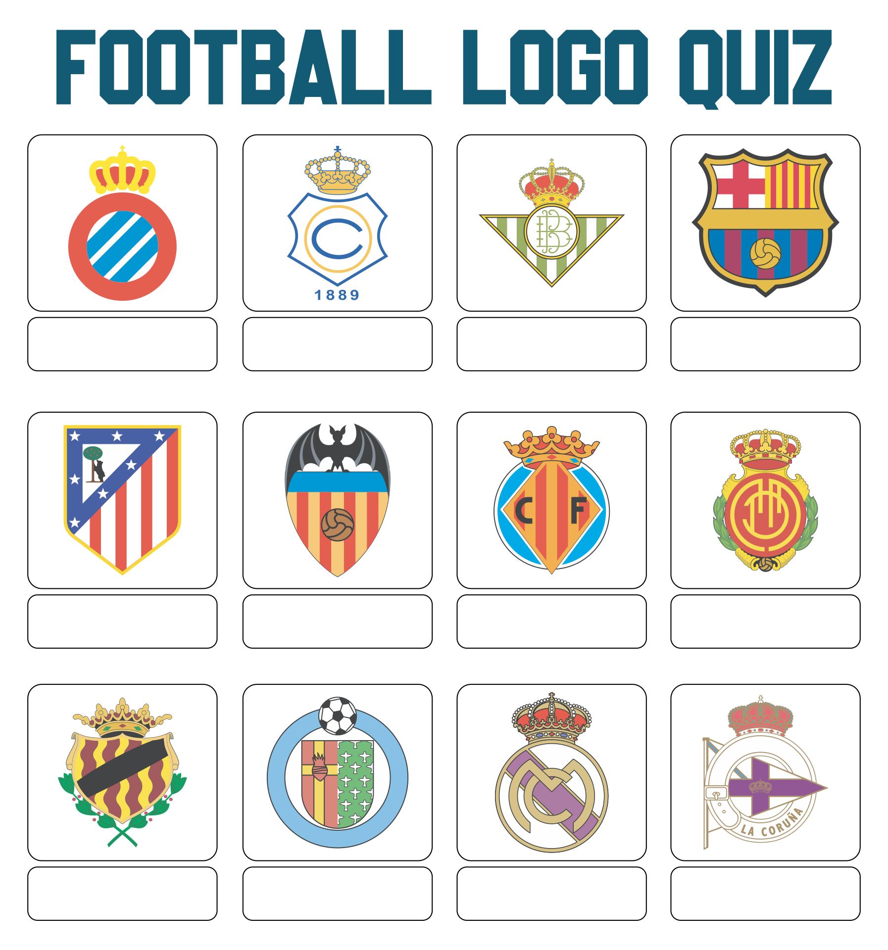 Printable Football Logos