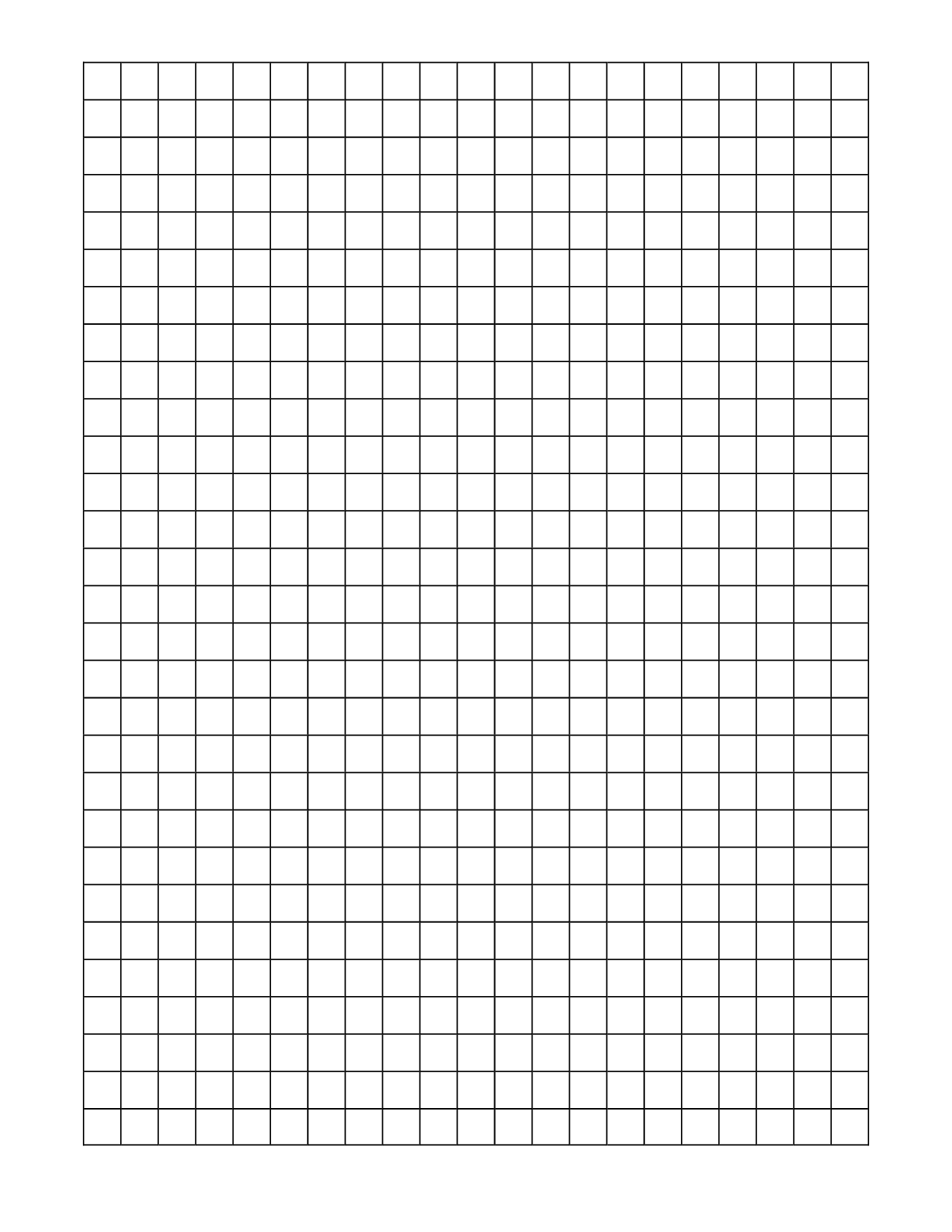 6 Images of Free Printable Grid Paper