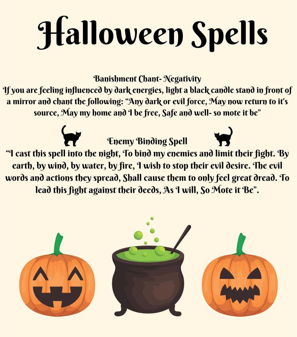 Printable Halloween Spells