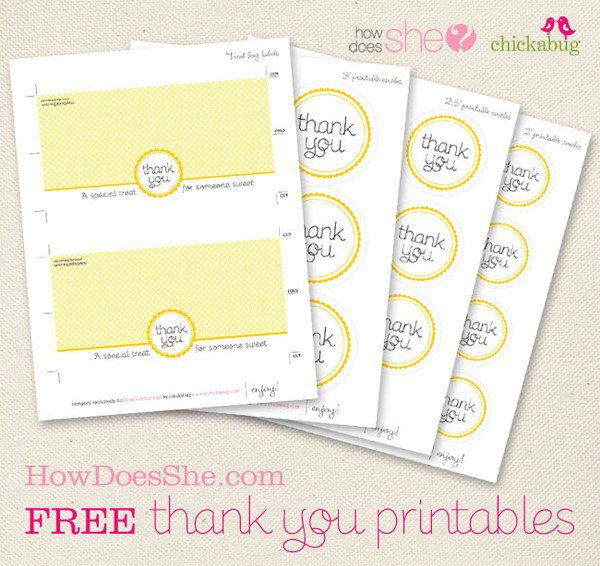 7 Images of Thank You For Coming Printables