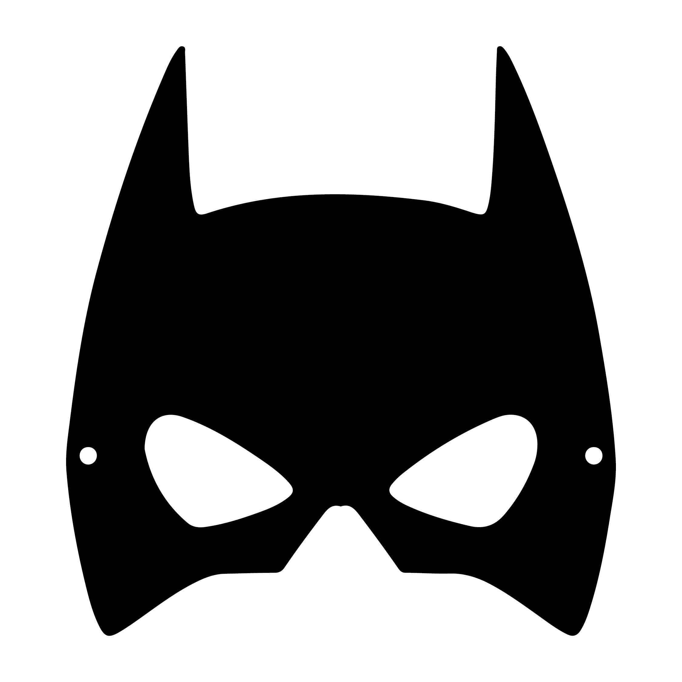 Halloween Bat Mask Template Printable