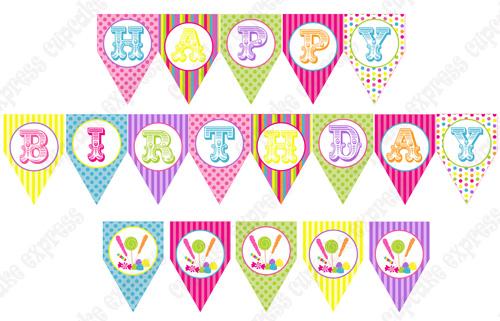 Happy Birthday Printable Banner Letters