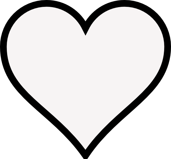 8 Images of Heart Shape Outline Printables