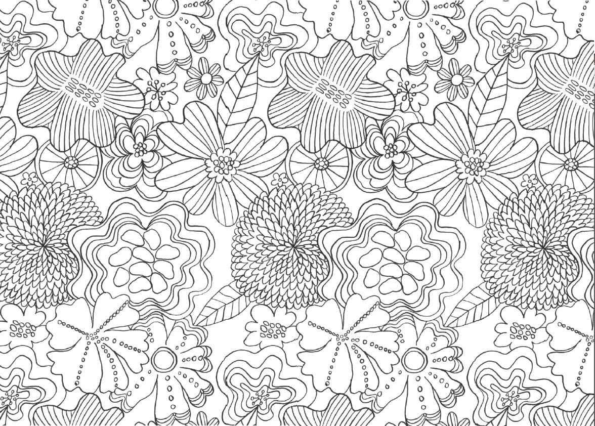8 Best Images of Printable Adult Coloring Pages ...