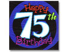 6 Images of Happy 75 Birthday Printable Games