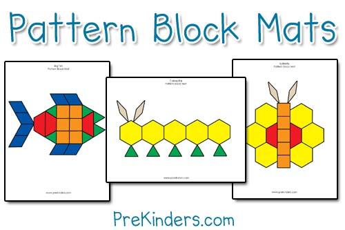 Pattern Blocks Worksheet 1st Grade - Intrepidpath