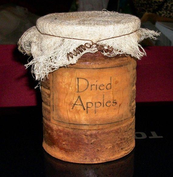 Primitive Pantry Jar Labels