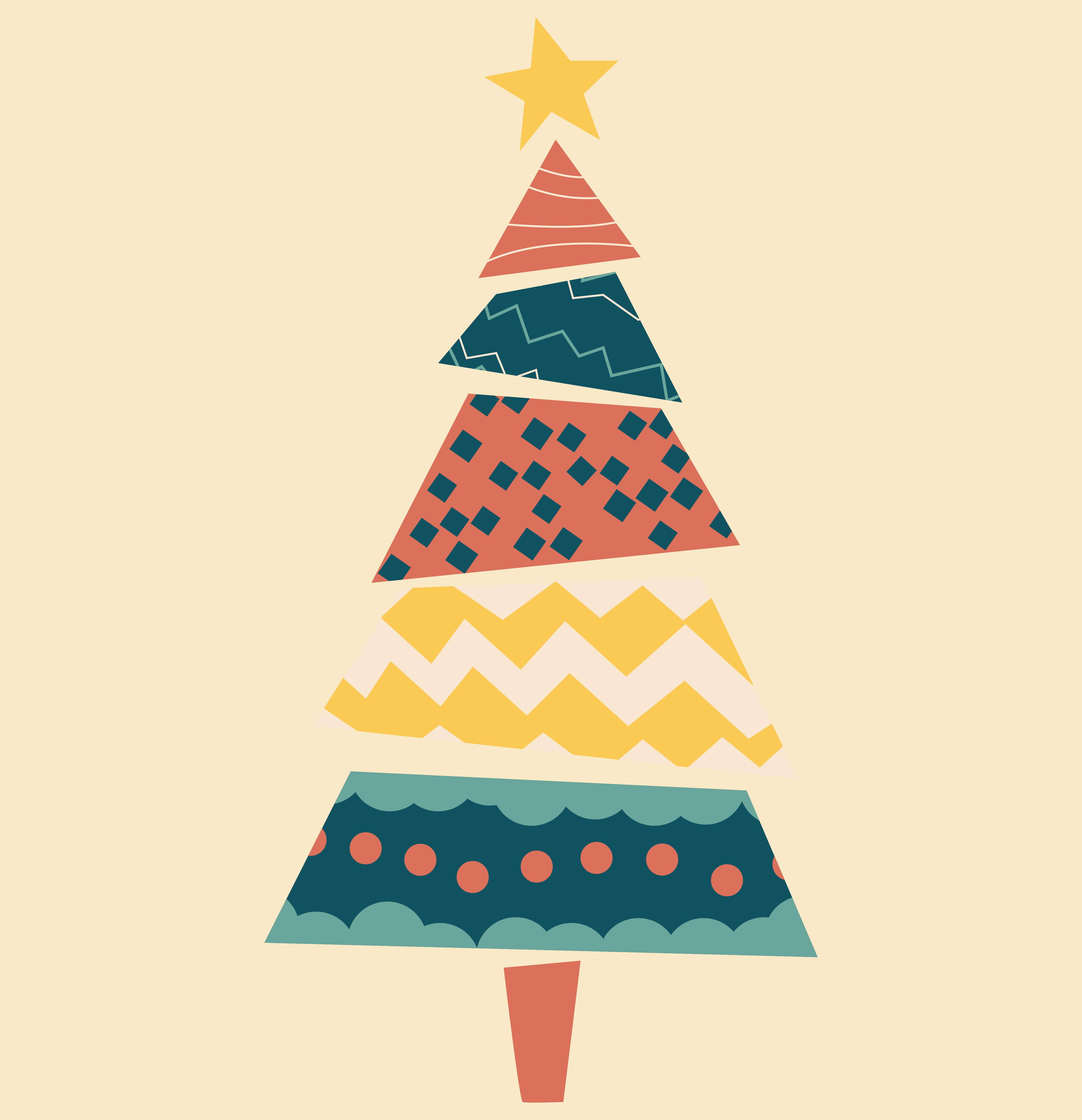 4 Images of Free Printable Christmas Tree
