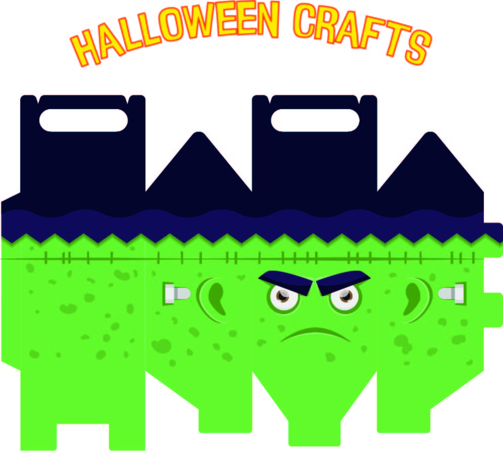 Printable Kids Halloween Crafts