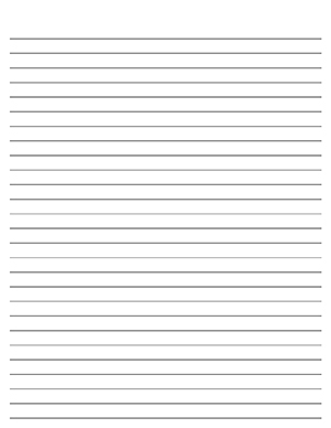 Lined journal paper