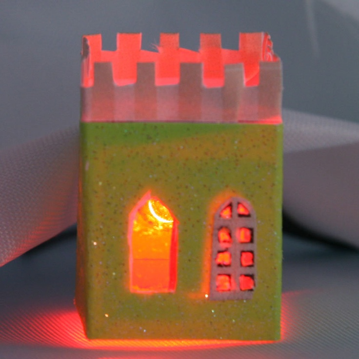 4 Images of Printable Glitter Houses